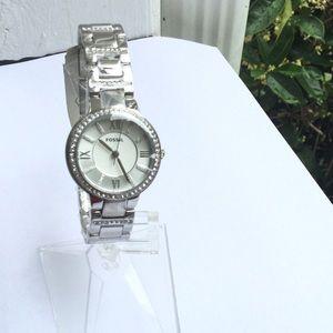 Virginia Bracelet Stainless Steel Watch In Silver
